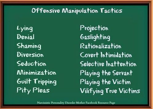 Narcissist Manipulation Tactics - Freedom From Narcissistic