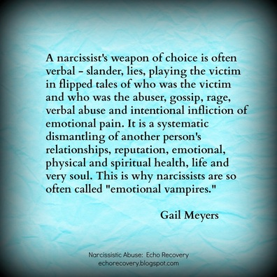 What is The Smear Campaign - Freedom From Narcissistic and Emotional