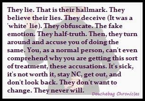 Narcissists And Lying - Freedom From Narcissistic and Emotional Abuse